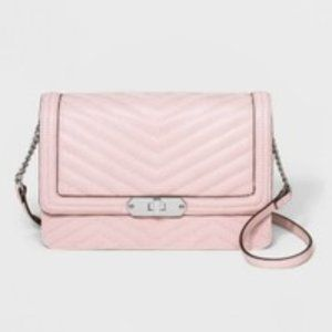 Quilted Flap Lock Crossbody Bag - A New Day NWT